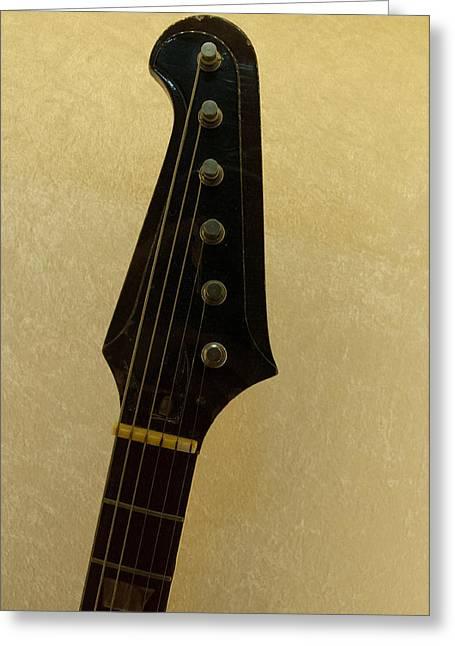 Stevie Ray Vaughan's Guitar Greeting Card