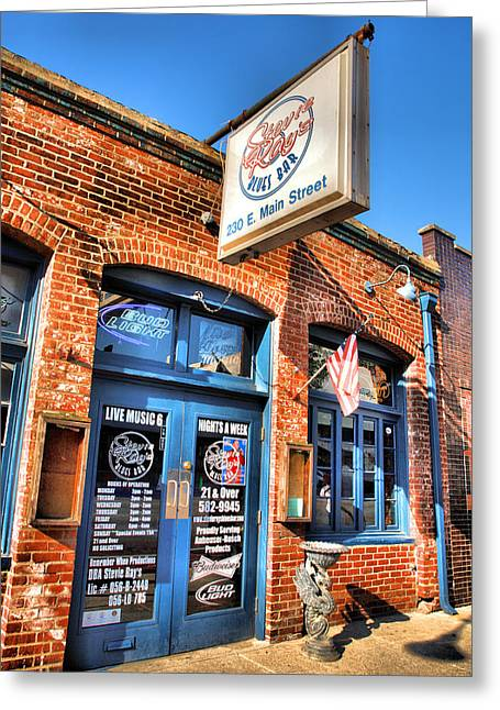 Stevie Ray's Place II Greeting Card by Steven Ainsworth