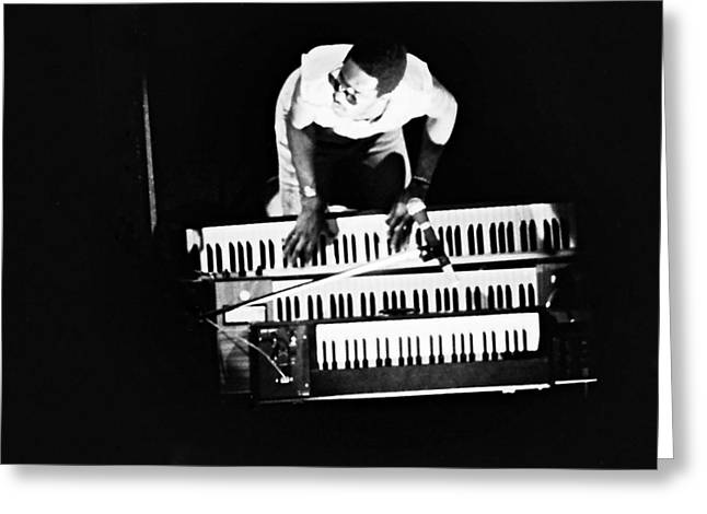 Stevie Wonder - Balconey View Greeting Card