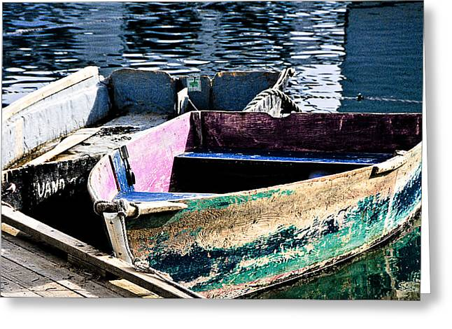 Still Afloat Greeting Card by Mike Martin