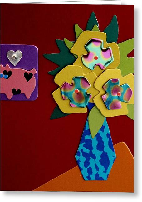 Still Life 2 Greeting Card by Barbara Lager