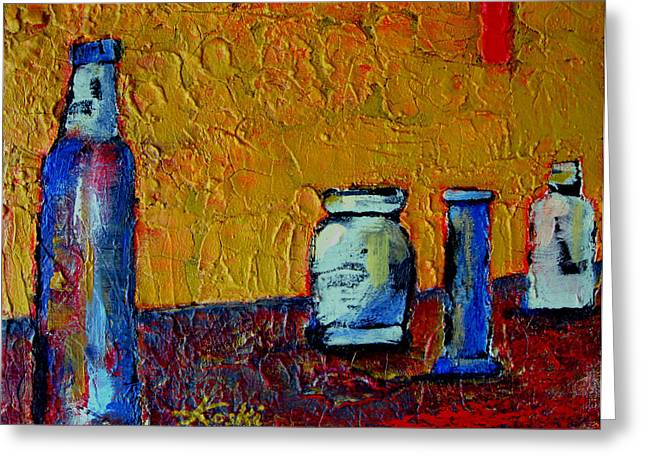 Still Life 4 Greeting Card by Beverly  Koski