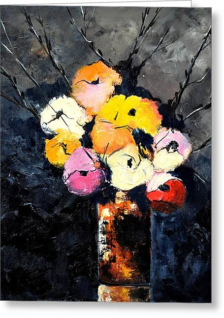 Still Life 563160 Greeting Card by Pol Ledent