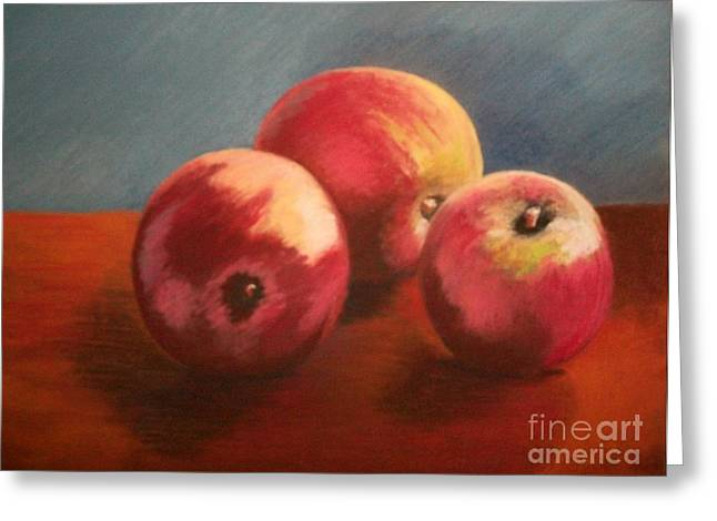 Still Life Apples Greeting Card