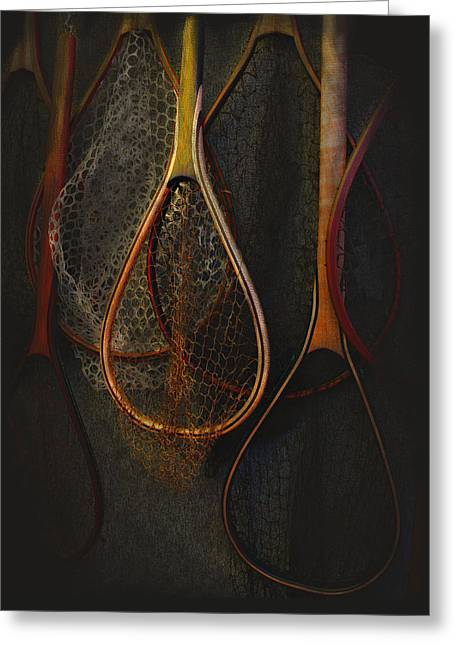 Still Life - Fishing Nets Greeting Card