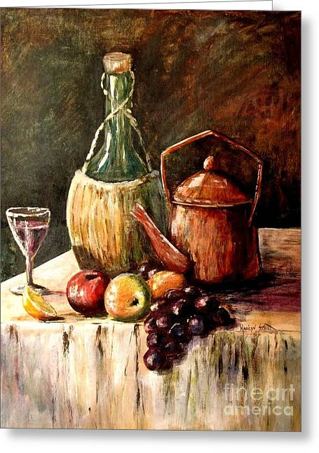 Still Life Greeting Card by Marilyn Smith