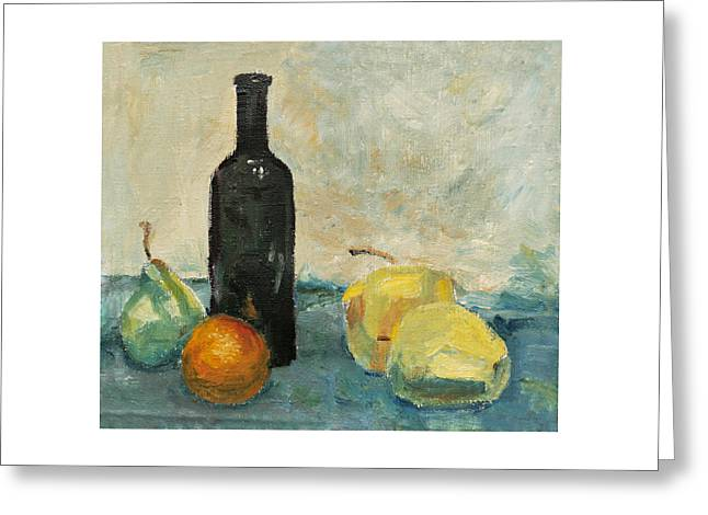 Still Life - Study Greeting Card