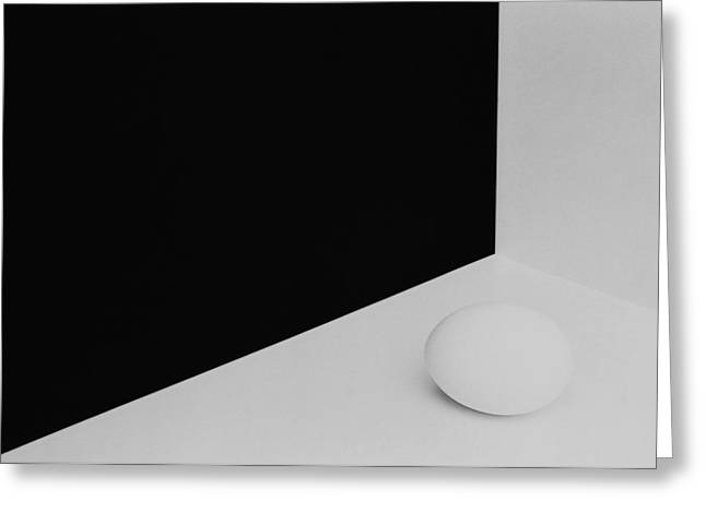 Still Life With Egg 3 Greeting Card by Peter Hrabinsky