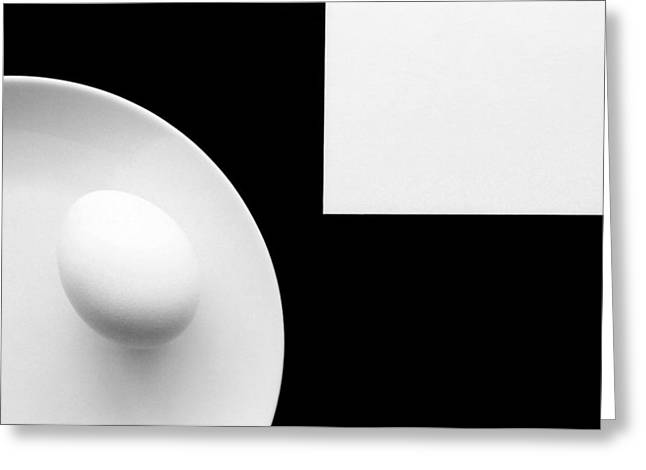 Still Life With Egg 4 Greeting Card