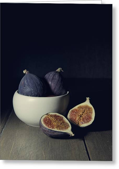 Still Life With Fresh Figs Greeting Card