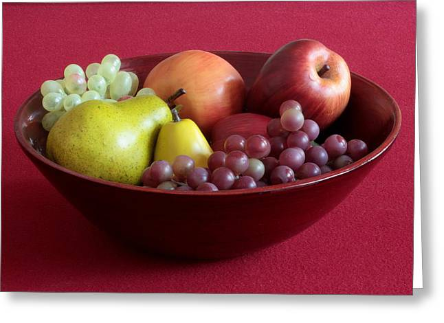 Greeting Card featuring the photograph Still Life With Fruit by Joe Kozlowski