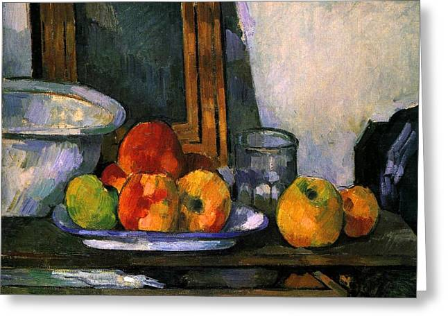 Still Life With Open Drawer Greeting Card