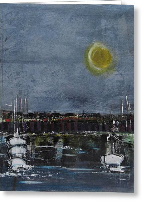 Still Of The Night # 2 Greeting Card by Nicole Nadeau