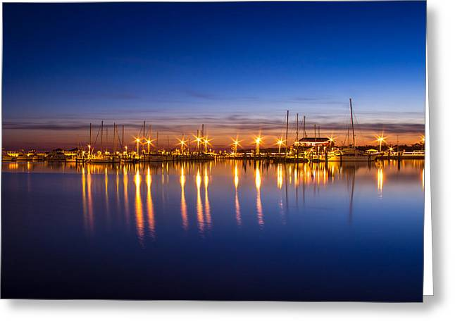 Still Reflections Greeting Card by Brian Wright
