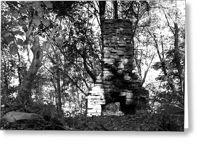 Greeting Card featuring the photograph Still Standing by Greg Graham