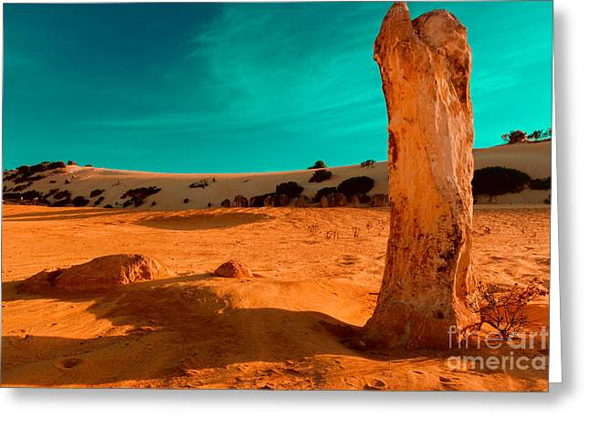 Still Standing Greeting Card by Julian Cook