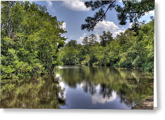 Still Waters Greeting Card by David Troxel