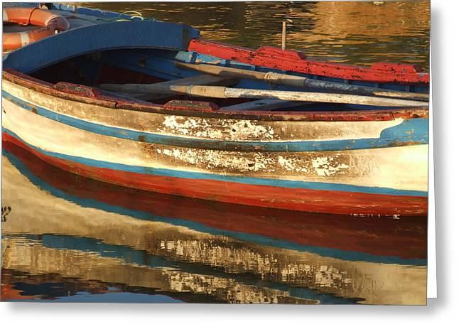 Still Waters Greeting Card by Pauline Flesseman