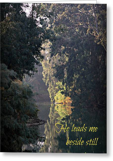 Still Waters Greeting Card by Stephen Stookey
