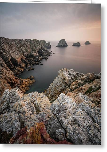 Stillness At The End Of The World Greeting Card