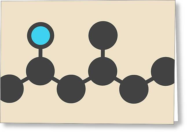 Stimulant Drug Molecule Greeting Card by Molekuul
