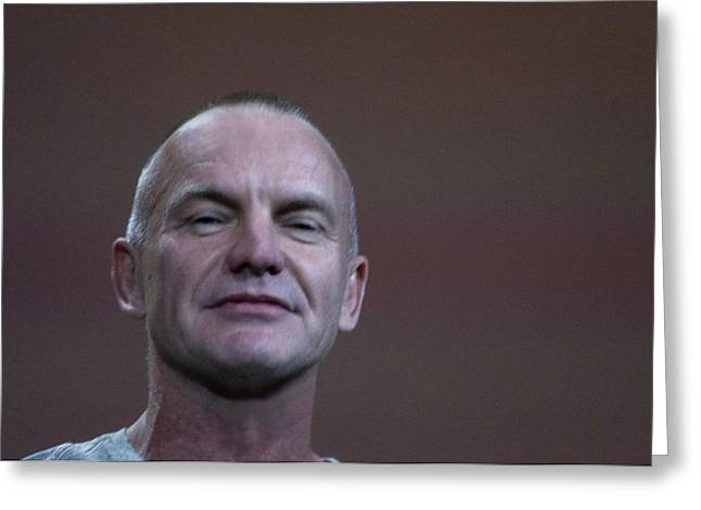 Sting With A Confident Bit Of Attitude Greeting Card by Scott Lenhart
