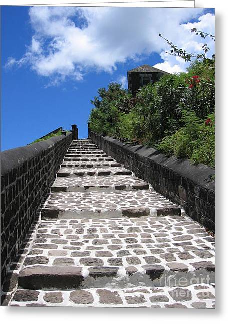 St.kitts - Ascent Greeting Card