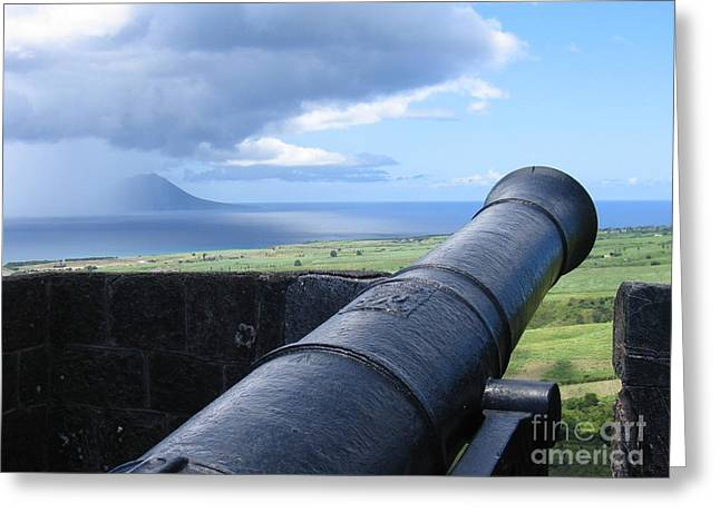 St.kitts Nevis - On Guard Greeting Card