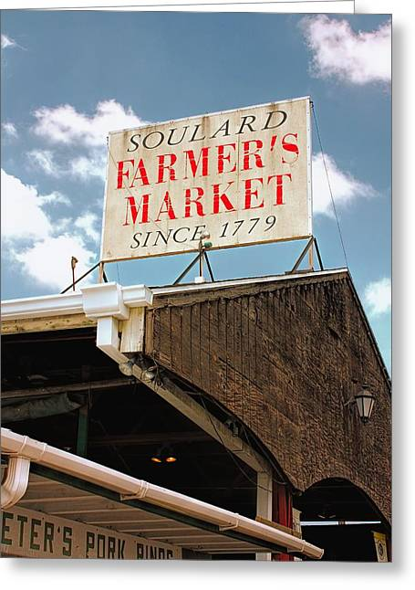 St.louis Market Greeting Card