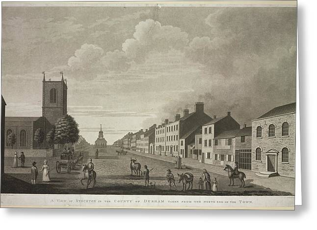 Stockton Greeting Card by British Library