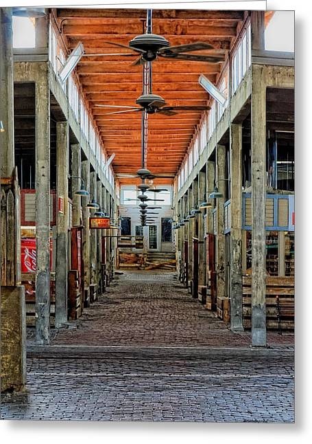 Stockyard Mall Greeting Card