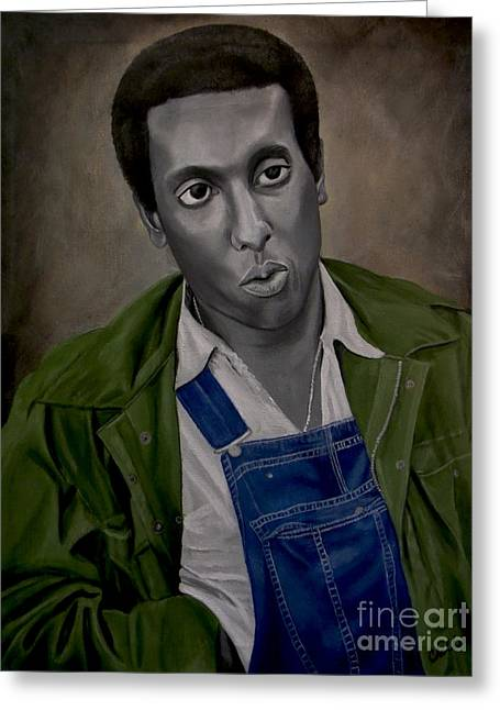 Stokely Carmichael Aka Kwame Toure Greeting Card