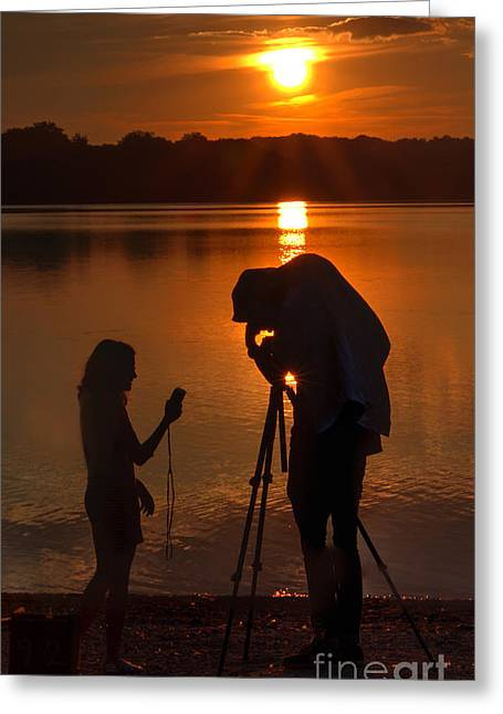 Stolen Moment Greeting Card by ELDavis Photography