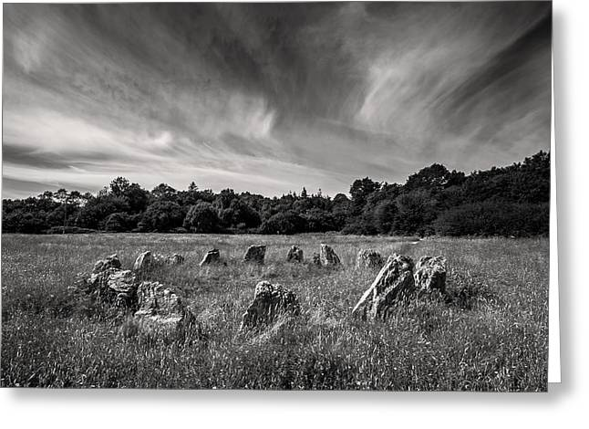 Stone Circle Ireland Greeting Card by Pierre Leclerc Photography