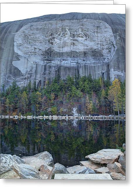 Stone Mountain - 2 Greeting Card