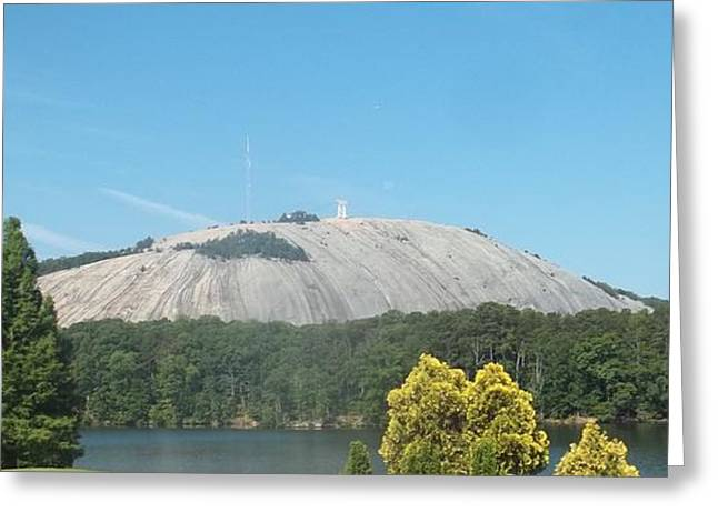 Stone Mountain I Greeting Card