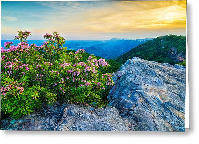 stone mountain KY Greeting Card by Anthony Heflin