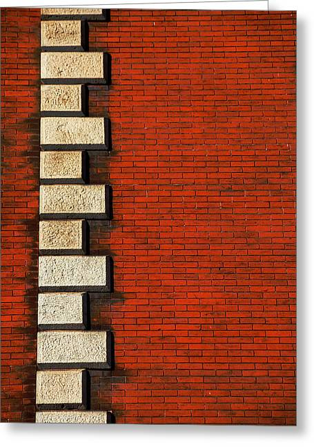 Stone On Brick Greeting Card