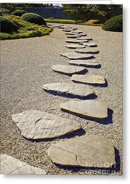 Stone Path Greeting Card