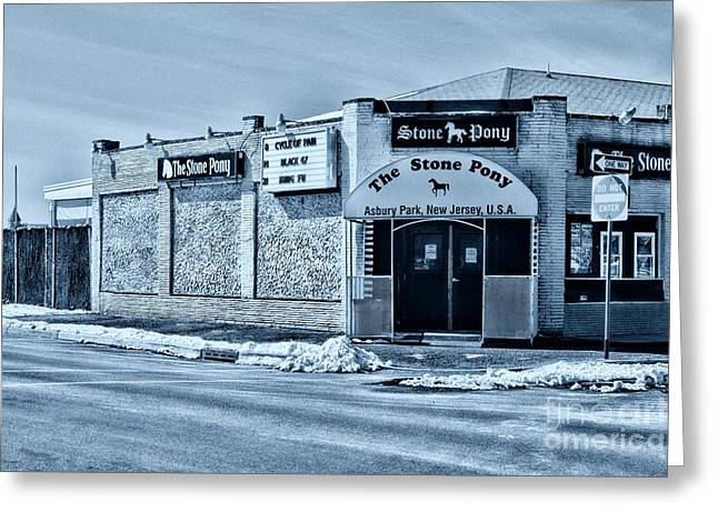Stone Pony Cool Greeting Card by Paul Ward