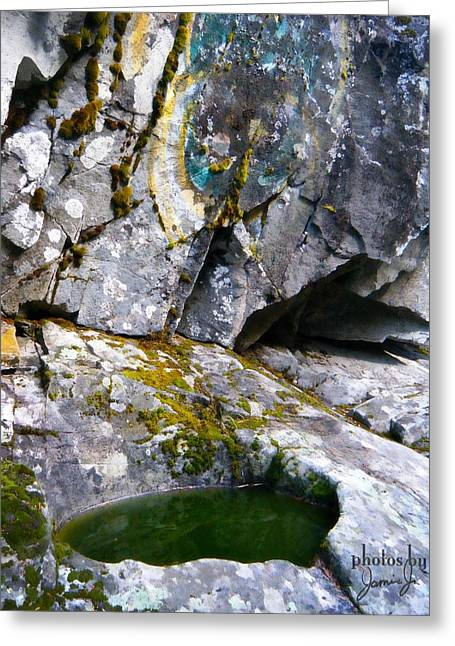 Stone Pool Greeting Card