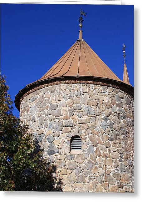 Stone Tower Greeting Card