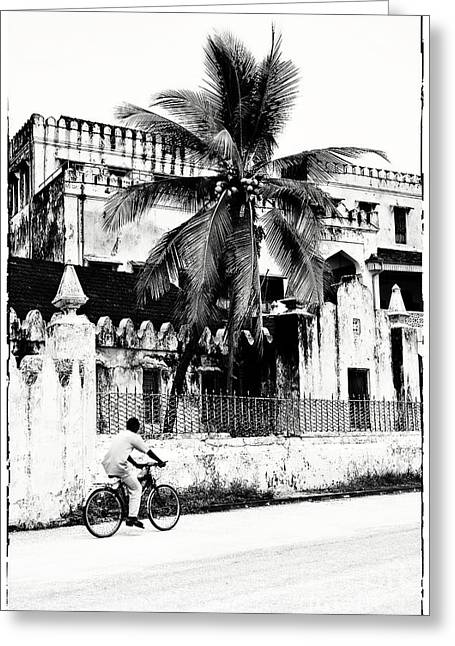 Greeting Card featuring the photograph Tanzania Stone Town Unguja Historic Architecture - Africa Snap Shots Photo Art by Amyn Nasser