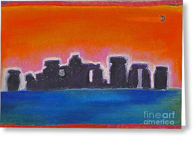 Stonehenge 2 Greeting Card by First Star Art
