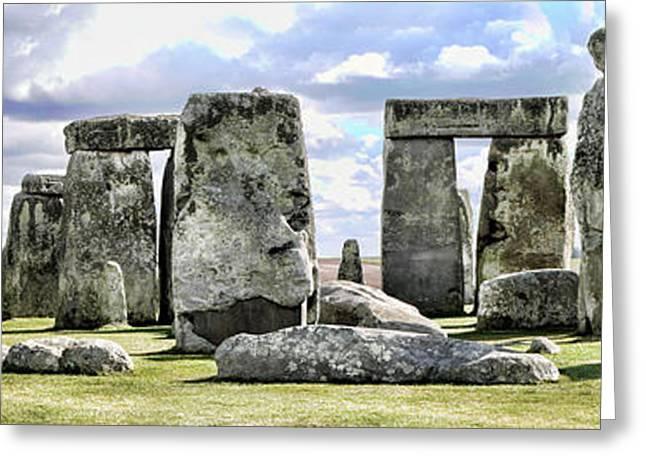 Stonehenge Greeting Card by Gordon Engebretson