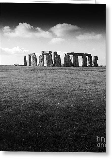 Stonehenge Greeting Card by Michael Canning