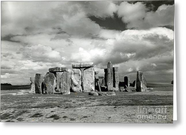 Stonehenge Prehistoric Monument Greeting Card by Science Source