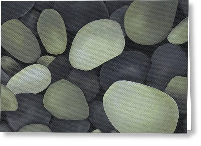 Stones Greeting Card by Natasha Denger