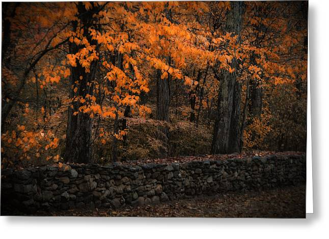 Stonewall In Autumn Greeting Card