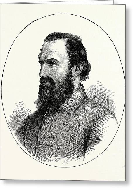 Stonewall Jackson, American Civil War, United States Greeting Card by American School